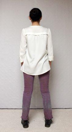Nähanleitungen Mode - **Schnittmuster pdf Bluse**TIIM* - ein Designerstück von Schnitte-bei-Oki bei DaWanda