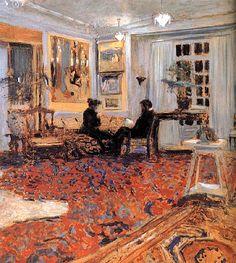 Edouard Vuillard - The Chat