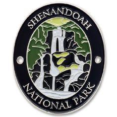 Kentucky Traveler Series Mammoth Cave National Park Walking Stick Medallion