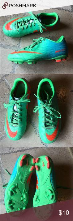 c4f02040d Nike Vapor IX Youth Soccer Cleats. Size 1Y. Nike Mercurial Vapor IX Youth  Soccer