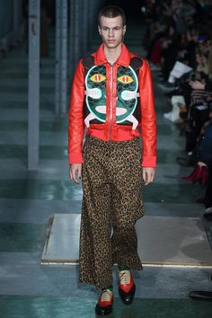 See the complete Walter Van Beirendonck Fall 2016 Menswear collection.