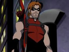 Red Arrow's appearance after years of neglect Miss Martian, The Martian, New Titan, Roy Harper, Kid Flash, Lex Luthor, Red Arrow, Red Hood, Black Canary