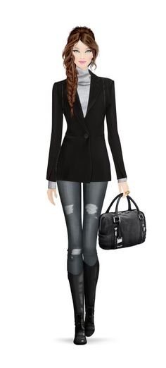 Covet Fashion Game. Styling!
