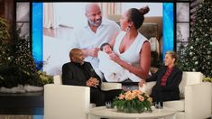 Steve Harvey revealed to Ellen that he isn't as happy as most grandparents, and jokingly said that most times he doesn't really get the appeal of having… Family Halloween, Halloween Party, Grey Beards, The Ellen Show, Steve Harvey, Grandparents, Grandchildren, Documentaries, Movie Tv
