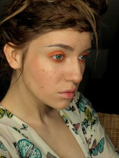 Ms. spring, fake freckles http://red-mylips.blogspot.com/