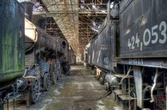 Behold the Rusting Beauty of Abandoned