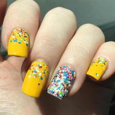festive nail art designs and ideas 2016