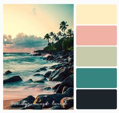 Color Palette Beach