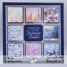 Feels Like Frost and Frosted Foliage Sampler Stampin Up Christmas, Handmade Christmas, Christmas Crafts, Christmas Tag, Christmas Birthday, Xmas Cards, Holiday Cards, Stampin Up Weihnachten, Ink Stamps
