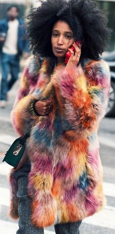 JULIA SARR-JAMOIS - I am so doing this to my coat, this week!