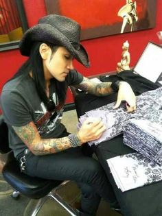 Ashley Purdy...one of these days I will purchase something from his new clothing line.