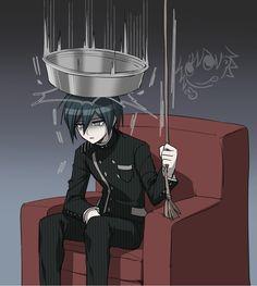 Shuuichi Saihara OR ending in a nutshell New Danganronpa V3, Danganronpa Memes, Danganronpa Characters, Emo, Otaku, Gekkan Shoujo, Trigger Happy Havoc, Nagito Komaeda, Fanart