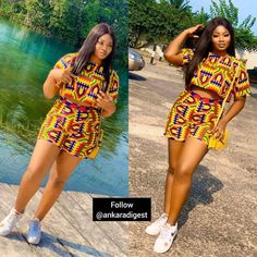34 Dazzling Ankara Fashion Styles For Alluring and Swag Ladies African fashion outfits you need to see. Best African Dresses, Latest African Fashion Dresses, African Inspired Fashion, African Print Dresses, African Print Fashion, African Attire, Ankara Fashion, African Men, Africa Fashion