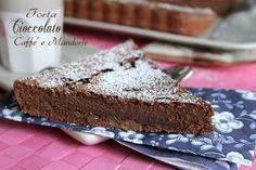 Torta al Cioccolato,Caffè e Mandorle morbida e golosa