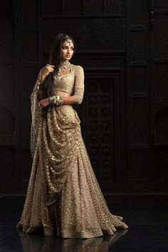 The way I wanna wear my lehnga