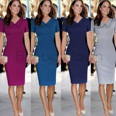4xl Vestido corto Shift Comprar fiable 10 vestidos de Ladies dress solapa manga 54 ajustado del algodón lápiz mujeres 76 verano UwxCqBC