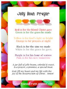 Framed in Faith: Jelly Beans & Jesus