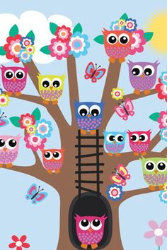 Owls in Treehouse