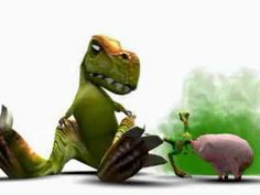how the dinosaurs really became extinct..!