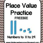 Students use their knowledge of place value, ten frames, and counting skills to fill out these useful number sense worksheets. Ideal for Kindergart...