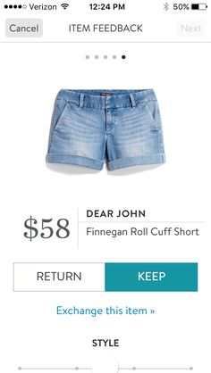 Stitch Fix Dear John Finnegan Roll Cuff Denim Short Cute Travel Outfits, Cute Outfits, Jamaica Outfits, Stitch Fit, Stitch Fix Outfits, Stitch Fix Stylist, Style Me, Denim Shorts