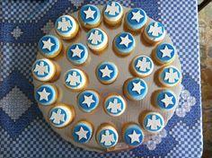 Christening cupcakes Christening Cupcakes, Cookies, Desserts, Food, Crack Crackers, Tailgate Desserts, Deserts, Biscuits, Essen