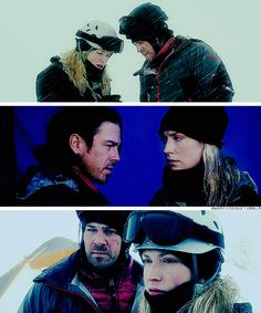 Leverage: I liked this epsisod and the moment Parker and Eliot share stuck in the ice cave