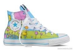 "DR. SEUSS x CONVERSE Chuck Taylor All Star – ""The Lorax"" ($70.00)"