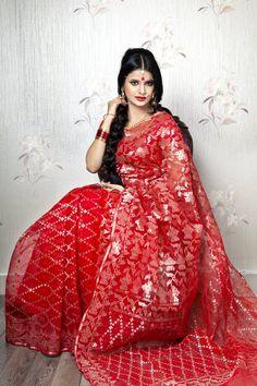 Jamdani | ~::Tangail Saree Kutir Ltd.::~ #Bangladesh #sari #weddingsari