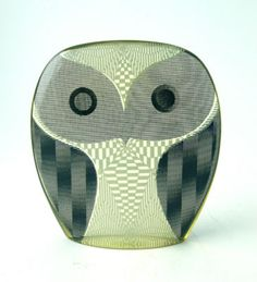 Abraham Palatnik lucite owl