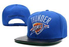 NBA Oklahoma City Thunder Snapback Mitchell And Ness Blue 070! Only $8.90USD