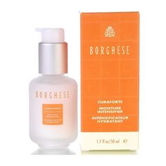 Borghese  Curaforte Brillante Brightening Moisture Intensifier, 1.7-Ounces Box by Borghese. $32.00. Borghese Curaforte Moisture is a lightweight formula that intensifies and maximizes the skins capacity to hold moisture by 200%. It softens and lifts dull surface cells allowing the benefits of moisturizers to penetrate easily and perform at their optimum. Surface fine lines and wrinkles decrease up to 70% within 11 days. Borghese Curaforte Moisture IntensifierA lightweight formu...