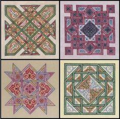 Ink Circles - Celtic Quilts $32
