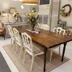 Sunny Designs Savannah Dining Table 1383AC $1247 | Dining Room | Pinterest  | Chats Savannah, Sunnies And Tables