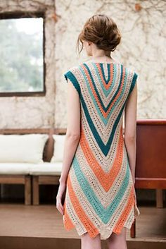 Ravelry: Seaside Dress by Moon Eldridge