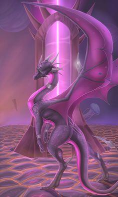 "Queen of Terror by Epic-Starzz.deviantart.com on @DeviantArt  (Cinder in ""The Legend of Spyro: A New Beginning."")"