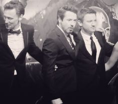 Tom, RDJ and Jeremy