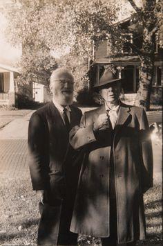 Lee Balterman (Carl Sandburg and Edward Steichen) c.1950s