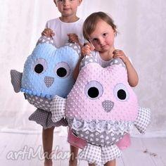 poduszka dziecięca sowa, poduszka-dla-dzieci, poduszka-sowa, pomysł-na-prezent