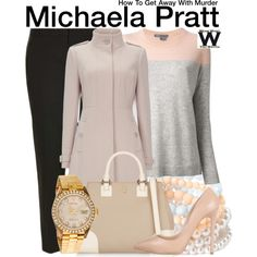 Inspired by Aja Naomi King as Michaela Pratt on How to Get Away With Murder.