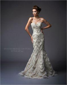 Wedding Gowns I Love: @Enaura Soares Soares Bridal  via www.lemagnifiqueblog.com
