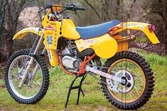 Enduro Vintage, Vintage Motocross, Vintage Bikes, Vintage Motorcycles, Cars And Motorcycles, Enduro Motocross, Enduro Motorcycle, Motocross Racing, 2 Stroke Dirt Bike