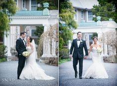 Blithewold Mansion Wedding, Spring, Bride and Groom, New England Wedding,  © Snap Weddings