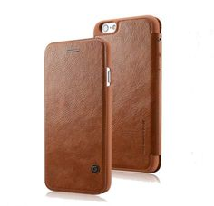 Luxury Genuine PU Leather Flip Case Wallet Cover For Apple iPhone 6/6 Plus