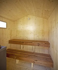A Sauna - Photo: Dylan Perrenoud