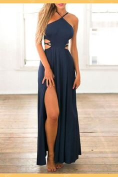 28ee7b9970e73 Customized Morden Blue Prom Dress, Prom Dress Long, Sleeveless Prom Dress,  Navy Blue Evening Dresses
