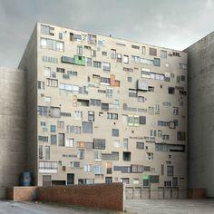 L'architecture impossible de Filip Dujardin.  A savourer sans modération.  http://foudebassan.fr/2012/09/09/larchitecture-impossible-de-filip-dujardin/#