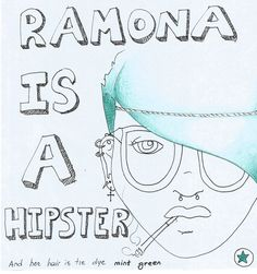 Scott Pilgrim vs. The world - Ramona Flowers (Is a hipster)
