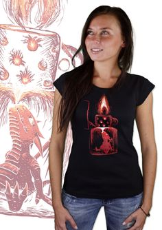 Feuerzeug Damen T-Shirt    http://www.bastard-shop.de/damen-t-shirts/feuerzeug-damen-t-shirt-476/