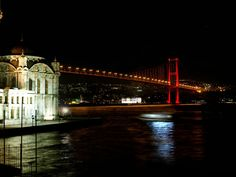 bosphorus bridge - From Europe to Asia in five minutes :)
